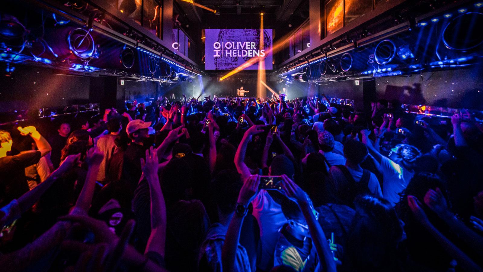 クラブ、DJイベントやバンドのライブももちろん開催!